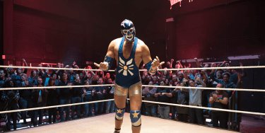 Yello-Markenrelaunch-Kampagne Sasa als Wrestler