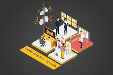 Bei der Mediastrategie und -planung werden Datenerkenntnisse operativ umgesetzt.