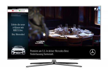 pilot Berlin & SevenOne Media setzen Addressable TV-Kampagne für Mercedes-Benz um