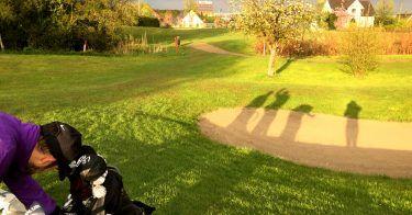 pilot Betriebssport: Das Golf-Team auf dem Rasen
