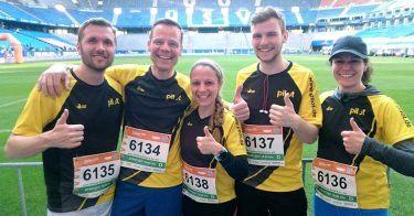 pilot Betriebssport: Unsere Läufer beim B2Run