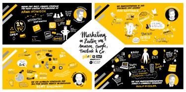 """Im PILOTSPOTLIGHT """"Neue Wege"""" geht es um Marketing in Zeiten von Amazon, Google, Facebook & Co."""