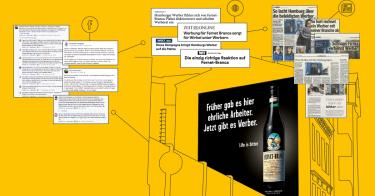 """Die von pilot entwickelte Kampagne """"Life is bitter""""erzielte eine hohe mediale Aufmerksamkeit"""