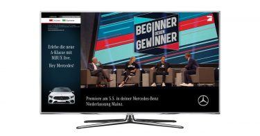 Addressable TV Kampagne für Mercedes-Benz FACEBOOK