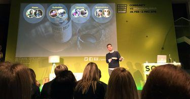 """Social-Experte Nicolas Diekmann von der Agentur pilot bei der Social Media Week 2018 Hamburg über den Erfolg der Fernet-Branca-Kampagne """"Life is bitter."""""""