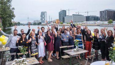 pilot Berlin Sommerfest: Unser Berliner Standort in Partylaune an der Spree
