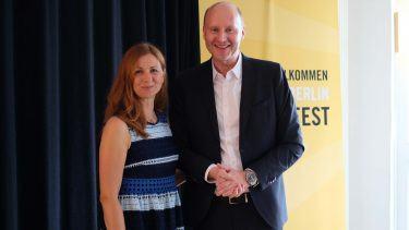 pilot Berlin Sommerfest: Natascha Heydorn & Thomas Nowack waren die Gastgeber