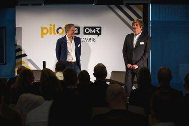 Das Branchen-Event pilot@OMR 2018 brachte die renommierten Speaker Scott Galloway, Philip Missler, Max Wittrock und Arno Heinisch auf die Bühne