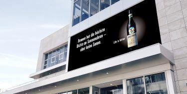 """Out-of-Home-Motiv der """"Life is bitter""""-Kampagne für Fernet-Branca von pilot in Bremen"""