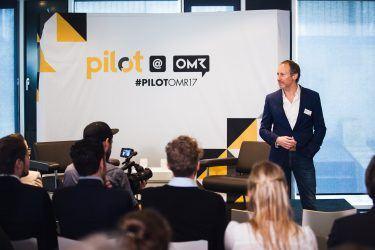 pilot-Geschäftsführer Michael Frank bei pilot@OMR 2017