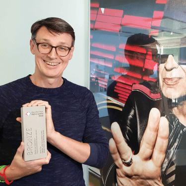 Deutscher Digital Award 2019 Bronze für Panik City - Damian Rodgett